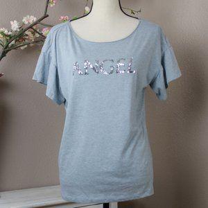 VS Pink Angel T-shirt NWOT Size M